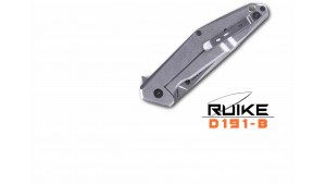 Ruike - D191 - Briceag - Oțel 8Cr13MoV - Negru