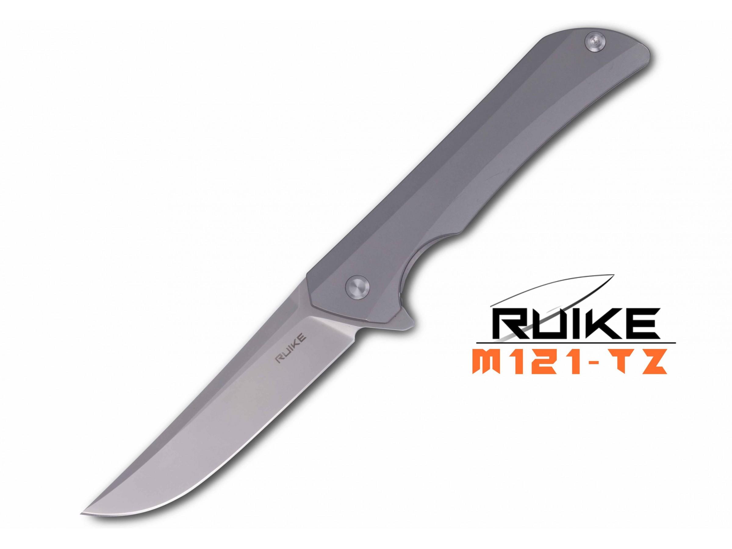 Ruike - M121-TZ Hussar - Briceag - Oțel S35VN - Titanium