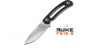 Ruike - F815 - Lamă fixă - Oțel 14C28N - Black