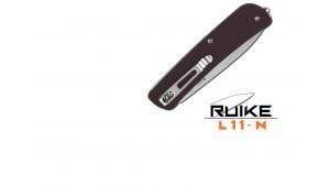 Ruike - L11 - Cuțit multifuncțional - 4 funcții - Oțel 12C27 - Brown