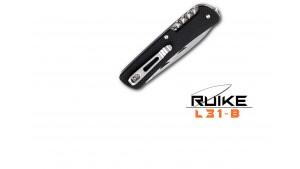 Ruike - L31 - Cuțit multifuncțional - 18 funcții - Negru