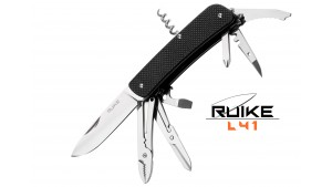 Ruike - L41 - Cuțit multifuncțional - 22 funcții - Negru